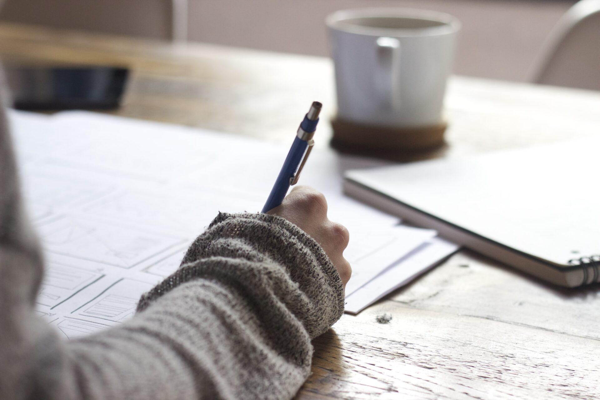 Kickstartjeboek manuscript opsturen en teksten redigeren